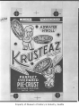Krusteaz pie crust packaging, Seattle, 1950