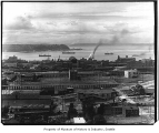 Waterfront from Beacon Hill, Seattle, ca. 1914