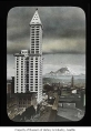 Smith Tower and Mount Rainier, Seattle, 1914