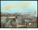 Third Avenue looking south from Denny Hill, Seattle, ca. 1895