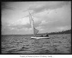 Sailboat on Lake Washington, ca. 1905