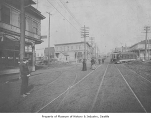 Fremont Avenue looking north, Seattle, 1905