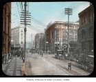 First Avenue looking south from Cherry Street, Seattle, ca. 1895