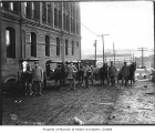 Postal employees and wagons, Seattle, ca. 1911