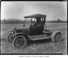 Model T Ford adapted to be a tractor, ca. 1919