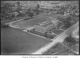 Aerial of Renton High School looking east, Renton, June 16, 1938