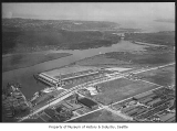 Aerial of Ford Motor Plant from southeast, Seattle, 1932