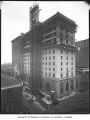 Olympic Hotel addition under construction, Seattle, March 30, 1929