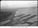 Aerial of Smith Cove from northwest, Seattle, October 22, 1934