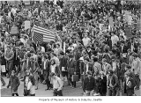 Anti-war march, Seattle, May 5, 1970