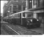 City buses, Seattle, ca. 1928