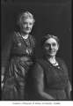 Edith May Stevens and her mother-in-law, Ida Stevens, Seattle, ca. 1920