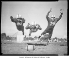Ballard High School football players, Seattle, September 1954