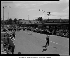 Valley Band in Kla How Ya Festival parade, Kirkland, July 11, 1959