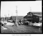 Alaskan Way looking southwest from Pier 5, Seattle, 1934