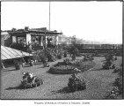 Lincoln Hotel roof garden, Seattle, ca. 1905