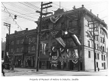 Go Hing Festival decorations, Seattle, May 1921