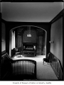 Home of University of Washington President Charles Odegaard, interior view of the organ from the...