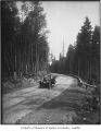Car on highway between Seattle and Tacoma, 1916