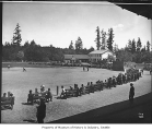 Baseball game at Woodland Park, Seattle, ca. 1910