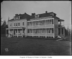 Hospital at Fort Lawton, Seattle, ca. 1907