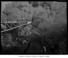Todd Shipyard fire, Seattle, October 21, 1964