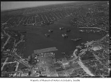 Aerial of Lake Union from south, Seattle, May 10, 1932