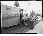 Seattle Public Library bookmobile, Seattle, 1947