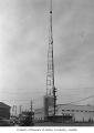 KOMO radio tower, Seattle, 1948