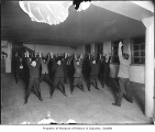 Adams School students doing exercises, Seattle, ca. 1911