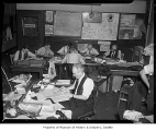 Seattle Post-Intelligencer copy editors, Seattle, 1940