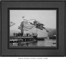 Launching of ship Bosworth at Allen Shipbuilding Co., Seattle, ca. 1918