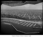 Aerial of Shilshole Bay Marina, Seattle, 1962