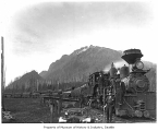 Logging train near Mt. Si, North Bend, ca. 1904