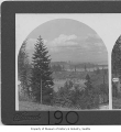 Portage Bay and Lake Washington from west, Seattle, 1908