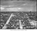 View east from Smith Tower, Seattle, ca. 1914