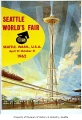 Official poster, Seattle World's Fair, 1962