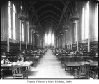 Suzzallo Library reading room, University of Washington, ca. 1928