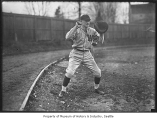 University of Washington baseball player, Seattle, ca. 1924