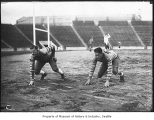 University of Washington football players, Seattle, 1927