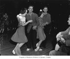 Dancers at a Duke Ellington show, probably at The Showbox in Seattle, 1940