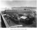 King Street railroad yard, Seattle, n.d.