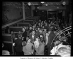 Crowd inside Italian Village Cafe, Seattle, September 29, 1942