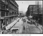 Western Avenue from Marion Street, Seattle, ca. 1905