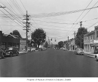 Phinney Avenue near 65th Street, Seattle, 1949