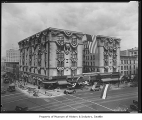 Hotel Gowman with decorations, Seattle, June 19, 1928