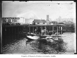 Seaplane at Standard Oil Co., Seattle, ca. 1925
