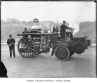 First motorized fire engine in Seattle, ca. 1914