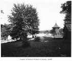 Woodland Park picnic grounds at Green Lake, Seattle, ca. 1898
