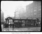 Pergola in Pioneer Square, Seattle, ca. 1909